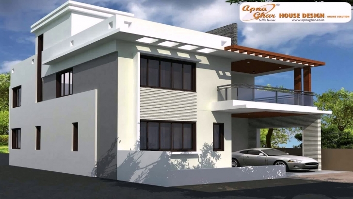 Popular Front Design Of House In Assam - Youtube Rcc House Front Design Image