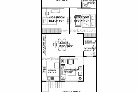 21 By 50 Floor Plans