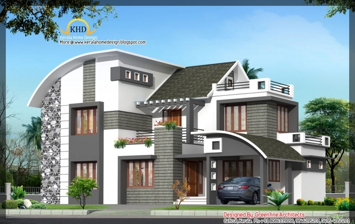 Popular House Plan Modern Contemporary Home 1949 Sq Ft Kerala Home Design Contemporary House Model Kerala Photo
