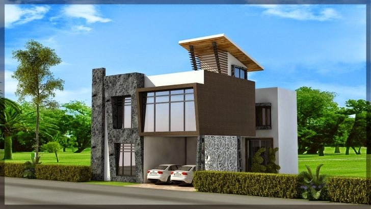 Popular House Plans 40X50 - Nikura 15×50 Front House Design Image Pic