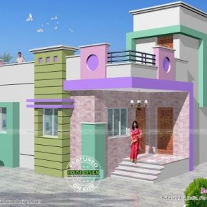 Indian Home Elevation Single Floor