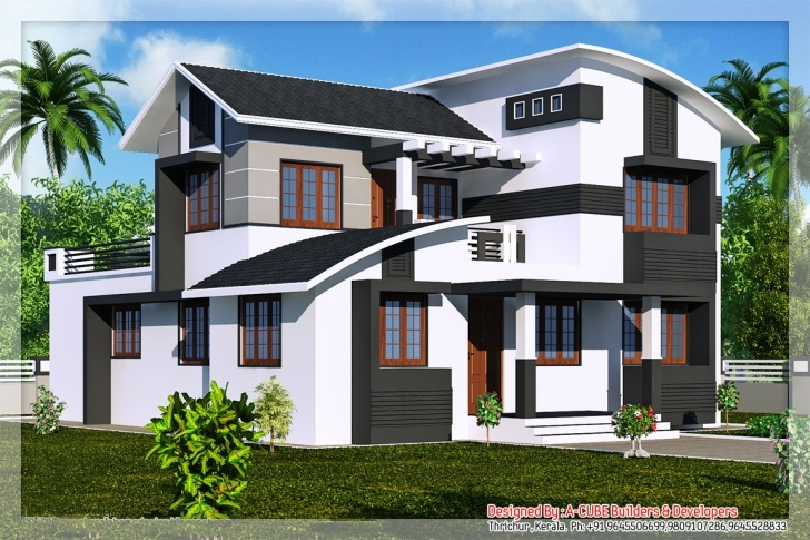 Popular Kerala Home Designs House Plans Elevations Indian - House Plans | #89071 Kerala House Elevation Designs Image