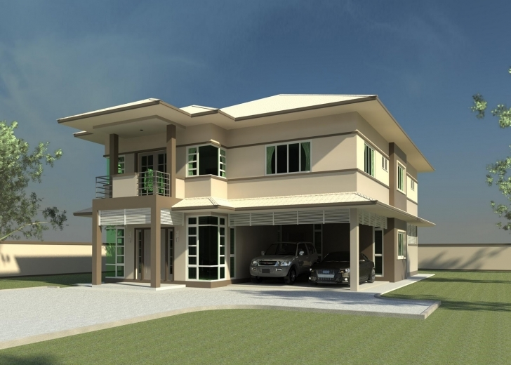 Popular Modern Double Storey House Plans Quotes - Building Plans Online | #64843 4 Bedroom Storey Building Plan Picture