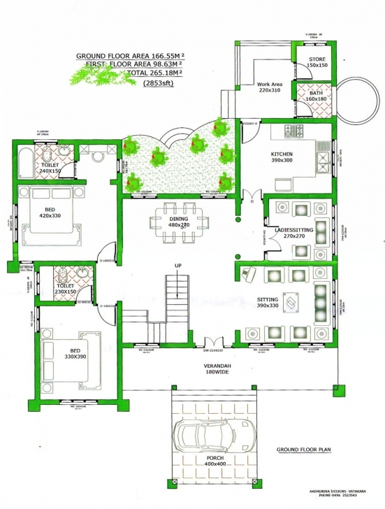 Popular Plan Autocad 2D - Modern House Interior Design Autocad 2D Civil Drawing Exercise Photo