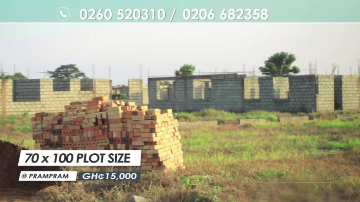 Popular Real Homes Plots Of Land For Sale - Youtube 1 Plot Of Land Ghana Image