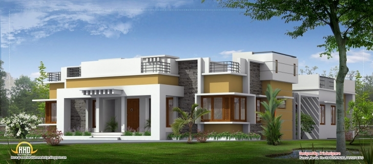 Popular Single Floor Home Kerala Design Plans - Building Plans Online | #13055 Ground Floor House Parapet Image Pic