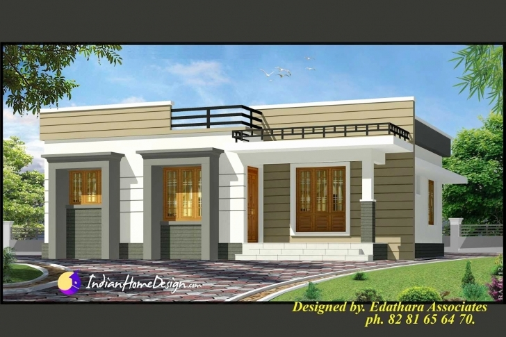 Popular Single Story House Front Design Lovely Modern Single Floor House Single Floor Home Front Design Modern Pic