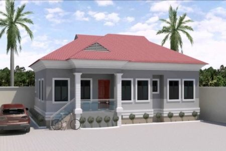 Three Bedroom Bungalow Floor Plan In Nigeria