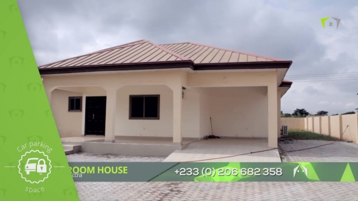 Remarkable 3 Bedroom House @malejor Accra - Youtube 3 Bedroom Building Plans In Ghana Pic