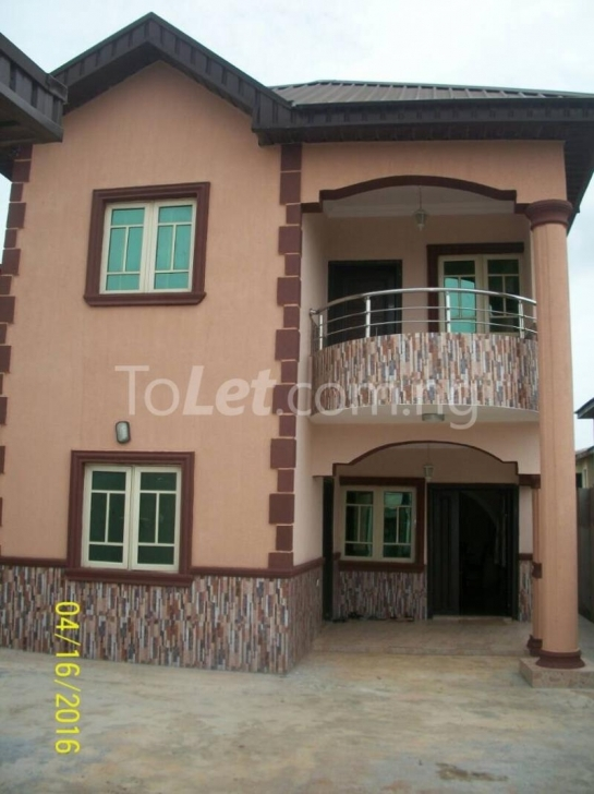 Remarkable 4 Bedroom Duplex For Sale Command Ipaja Ipaja Lagos (Pid: J1427) Duplex On Half Plot Of Land Picture