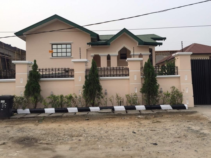 Remarkable 4 Bedroom Duplex With Half Plot Of Land @ Lafiaji Ikota, Lekki Duplex Designs On Half Plot Of Land Picture