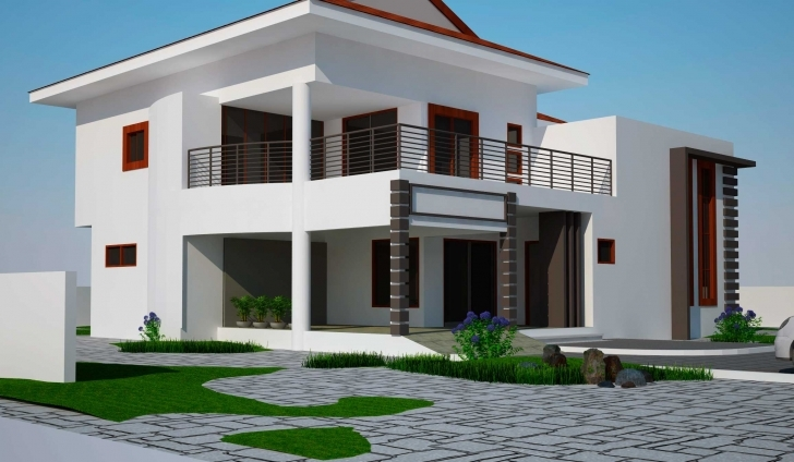 Remarkable 4 Bedroom Storey Building Plan - Homes Floor Plans 4 Bed Room Buildings Image