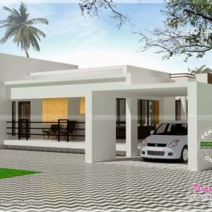 Front Elevation Designs For Single Storey Terrace House