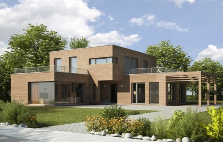 Remarkable Flat Roof House Designs Plans Ideas | Home Interior & Exterior Modern Flat Roofed Houses Pic