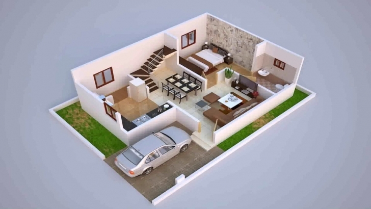 Remarkable House Plans In Bangalore 60 X 40 - Youtube 22*40 House Plan 3D Photo