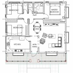 3 Bedroom House Plans In Kenya