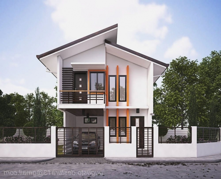 Remarkable Small Zen Type House Design - Homes Floor Plans House Design 2017 With Floor Plan Picture