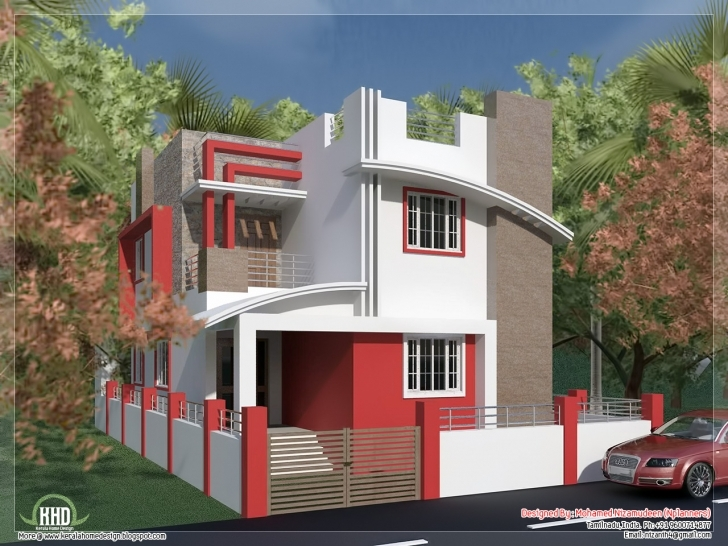 Remarkable South Indian Villa In 1375 Sq.feet - Kerala Home Design Indian House Plans With Photos 750 Picture