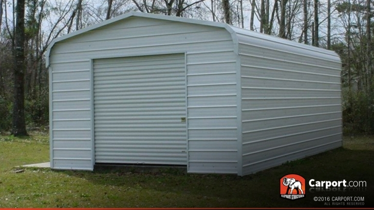 Remarkable Steel Garage Metal Building 12' X 21' | Shop Metal Buildings Online! Elephant Steel Garages Photo