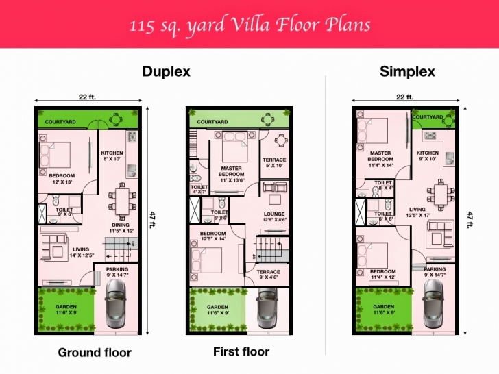 Splendid 150 Square Yards House Plan Elegant Outstanding 30 35 Duplex House 20 X 35 Duplex House Plan Image