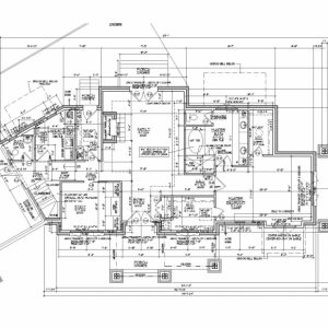 Architecture Autocad Drawing
