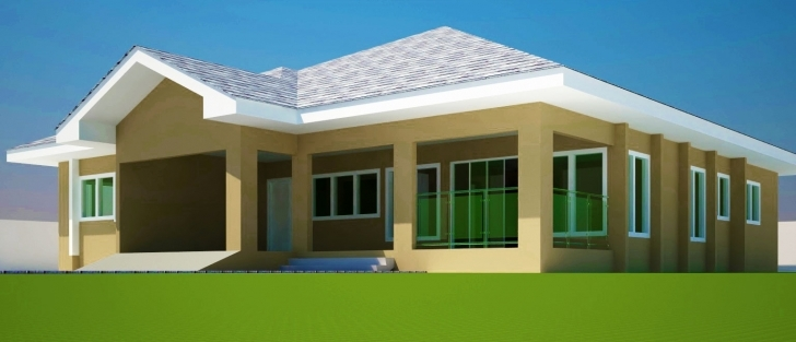 Splendid 4 Bedroom Bungalow House Plans In Ghana Elegant Home Plans For Bongalo House Plan Nairaland Pic