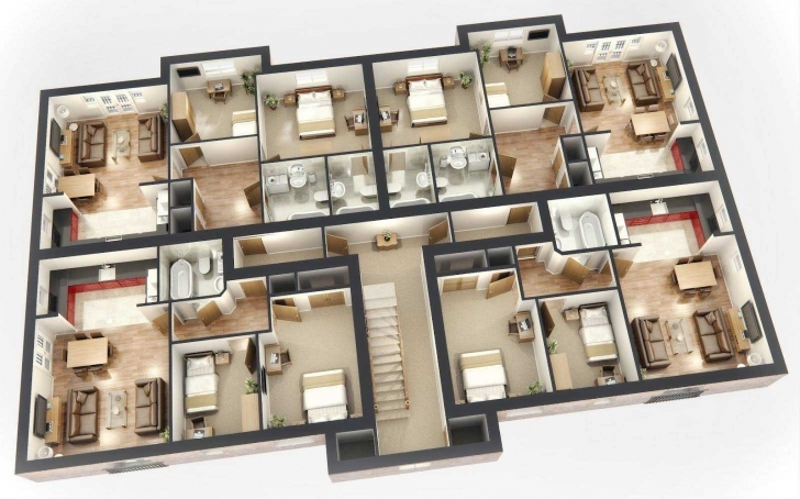 Remarkable 3d Open Floor Plan 3 Bedroom 2 Bathroom Google