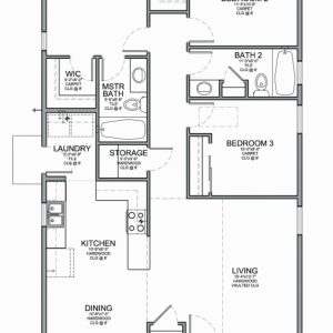 Small 3 Bedroom House Plans In Nigeria