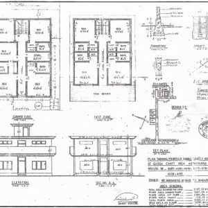 Residential Building Plans And Elevations