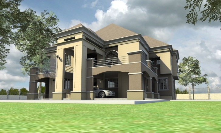 Splendid Contemporary Nigerian Residential Architecture Buildings - Building House Building Plan In Nigeria Image
