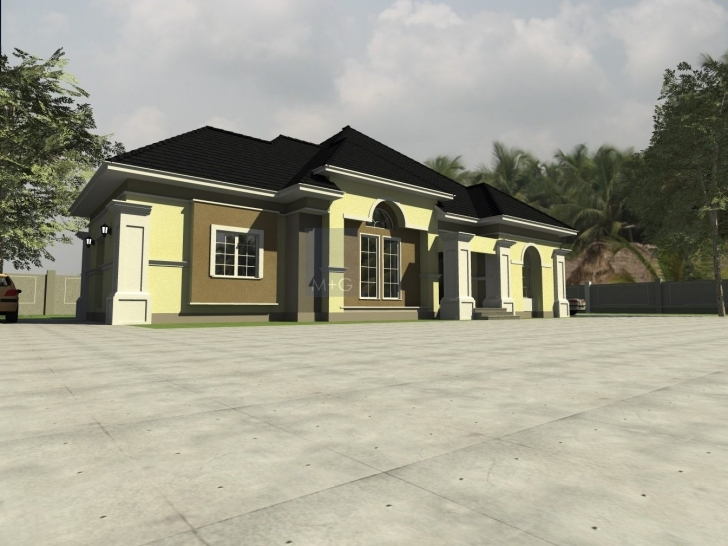 Splendid Contemporary Nigerian Residential Architecture Nigerians Building Plans And Elevations Picture