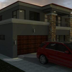 Double Storey Tuscan House Plans
