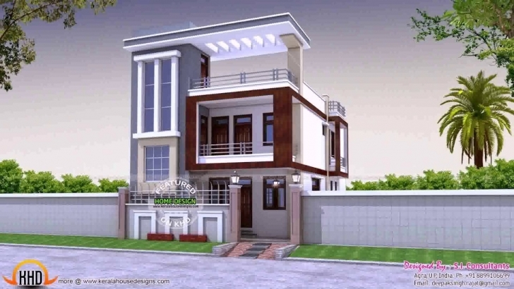 Splendid Floor Plans For A 30X50 House - Youtube Front Elevation Of Indian House 30X50 Site Ground Floor Image