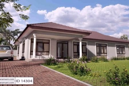 4 Bedroom Modern House Plans In Kenya