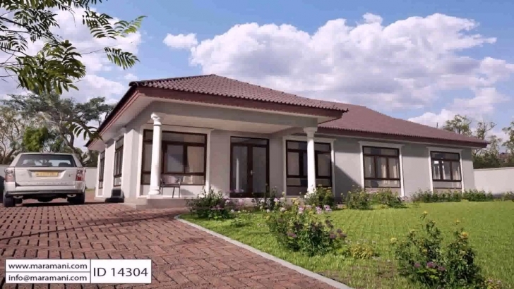 Splendid Free 4 Bedroom House Plans In Kenya - Youtube 4 Bedroom Modern House Plans In Kenya Image