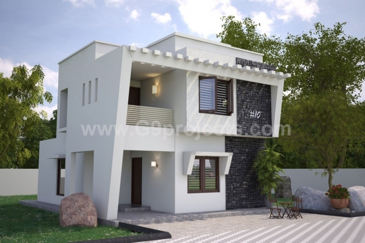 Splendid G9 Projects North Face Duplex House Elevation Photo