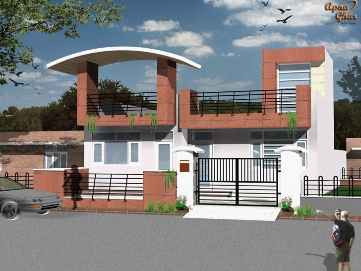 Splendid Home Elevation Design For Ground Floor Inspirations Including Front Only Ground Floor Elevation Designs Pic