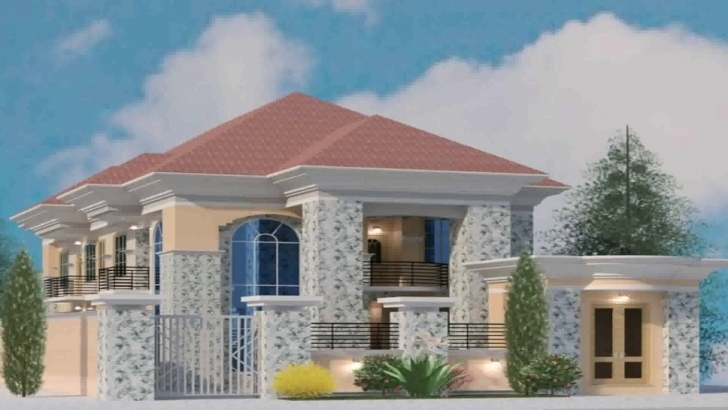 Splendid House Plans In Lagos Nigeria - Youtube Beautiful Mansions In Nigeria Image
