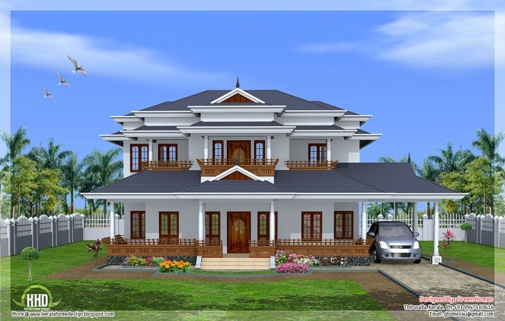 Splendid Luxury Bedroom Kerala Style Home Design House Plans - Building Plans New House Plans For 2017 Kerala Style Pic