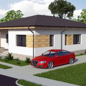Modern 3 Bedroom Bungalow Designs