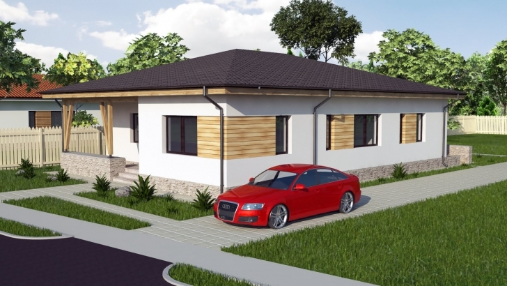 Splendid Modern Bungalow House Design. 3 Bedroom House. Model A30 - Youtube Modern 3 Bedroom Bungalow Designs Image