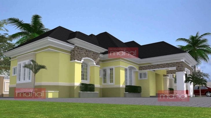 Splendid Modern Bungalow House Design In Nigeria - Youtube Contemporary Nigerian House Plans Picture