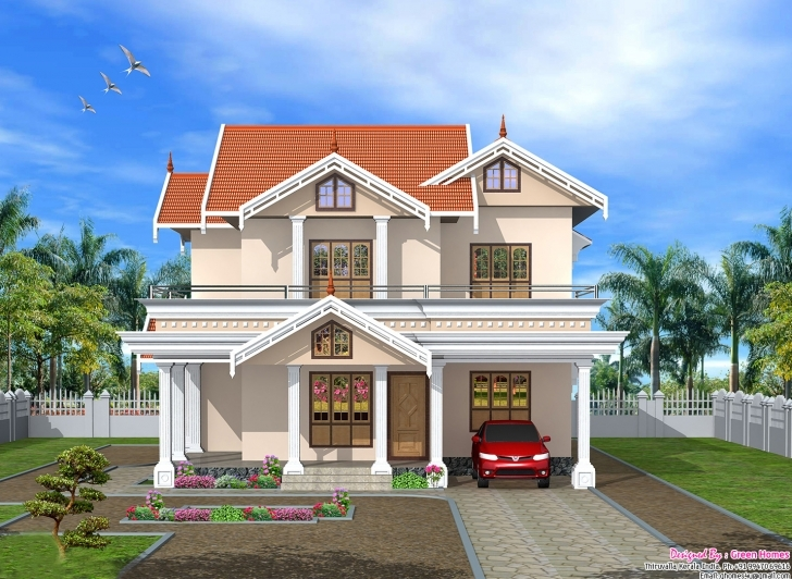 Splendid Modern House Front Design | The Base Wallpaper Indian House Front Design Pic