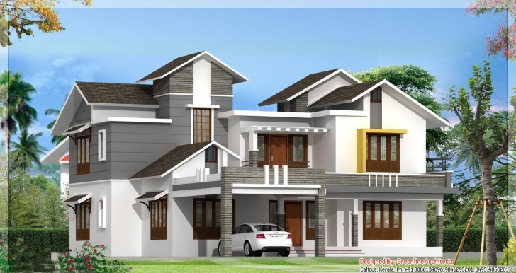 Splendid Modern Model Houses Designs | House Designs | Pinterest | House House Model Kerala Image