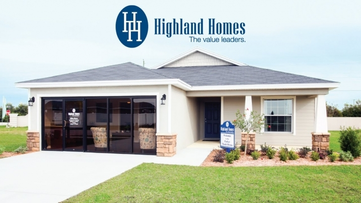 Splendid Parker Home Plan By Highland Homes - Central Florida New Homes For House Plans For Sale Florida Picture
