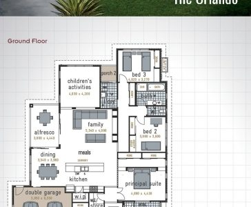 Double Garage House Plan