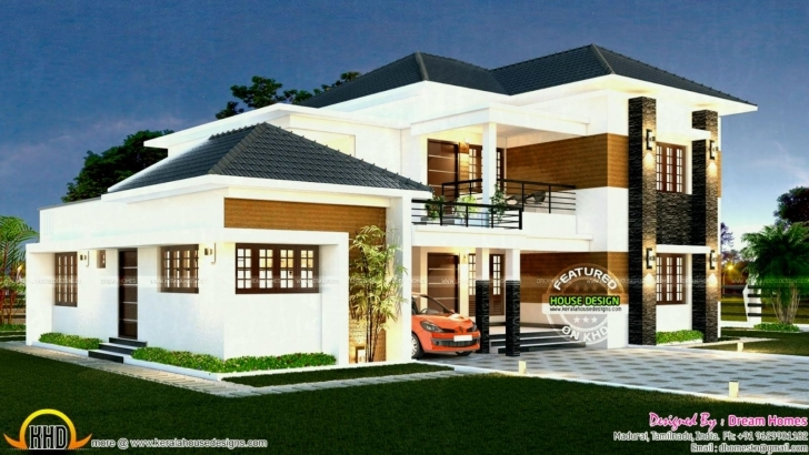 Splendid South Indian House Exterior Designs Coryc Me ~ Home Living Properties South Indian House Pic Picture