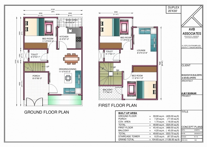 Stunning 100 Sq Yard House Design Elegant Plan For 600 Sq Ft Home 600 Sq 100 Square Yard House Design Photo