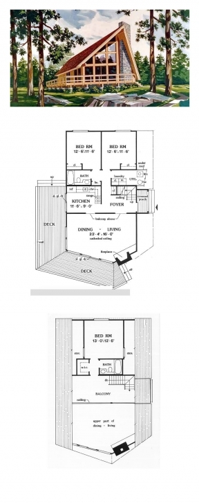 Stunning 51 Best A-Frame House Plans Images On Pinterest | Architecture A Frame House Plans 3 Bedroom Image