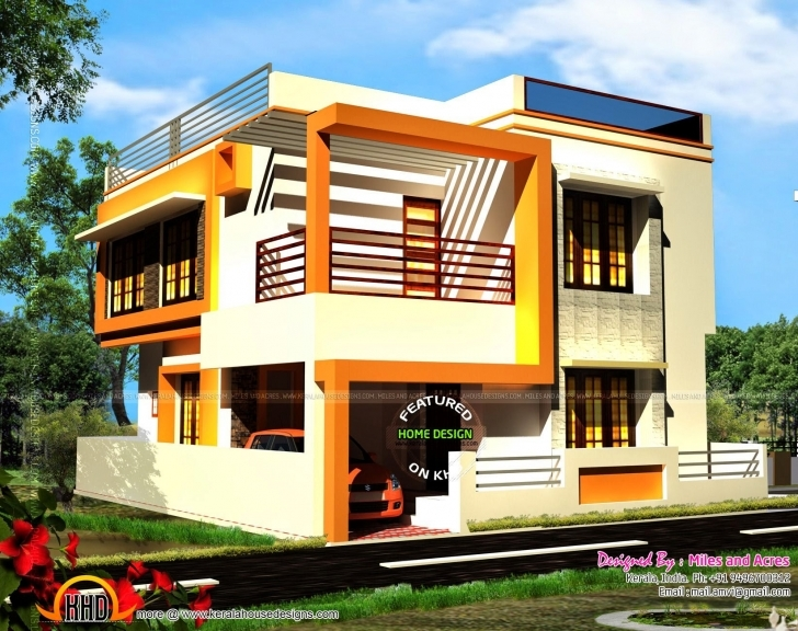 Stunning Duplex House Front Elevation Designs 2017 Floor And Images ~ Albgood Front Elevation For North Facing Ho Photo